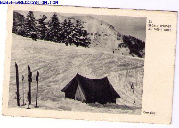 Rochefort Montagne carte postale