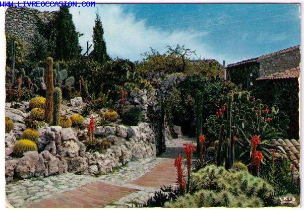 EZE VILLAGE Le Jardin Exotique - Exotic Garden - carte ...
