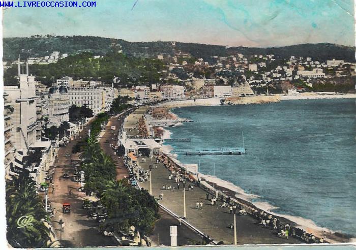 Nice la promenade des anglais vue de l 39 hotel negresco for Porte vue en anglais