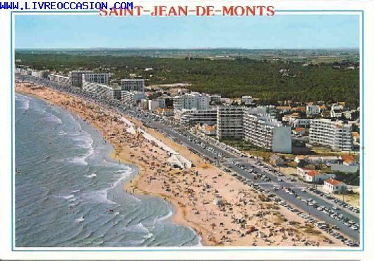 saint jean de monts vend e 85 la plage des demoiselles carte postale vende vendee. Black Bedroom Furniture Sets. Home Design Ideas