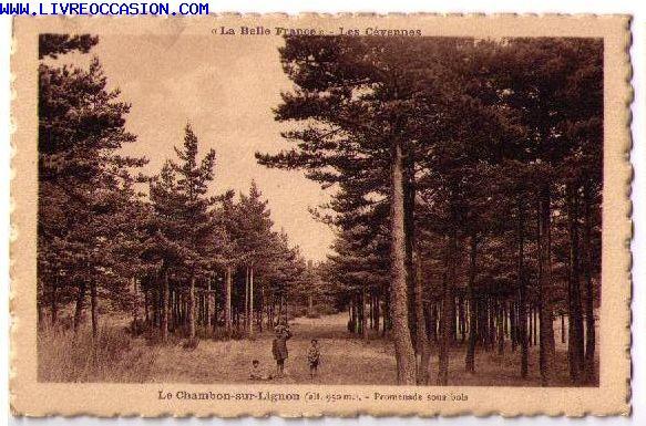 Le Chambon Sur Lignon carte postale