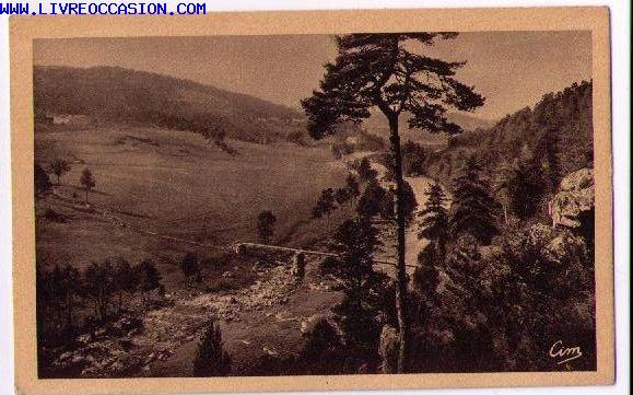 Vallée du Lignon carte postale