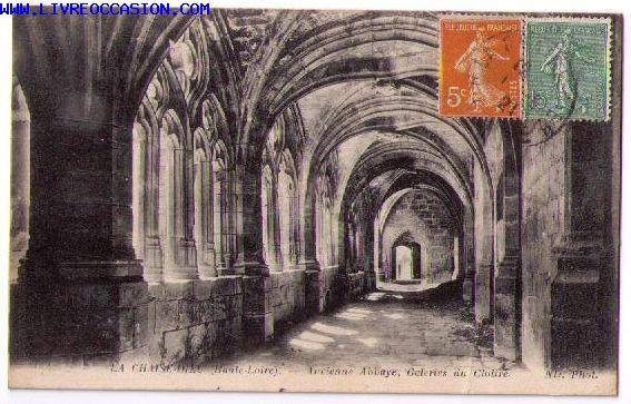 La Chaise Dieu carte postale
