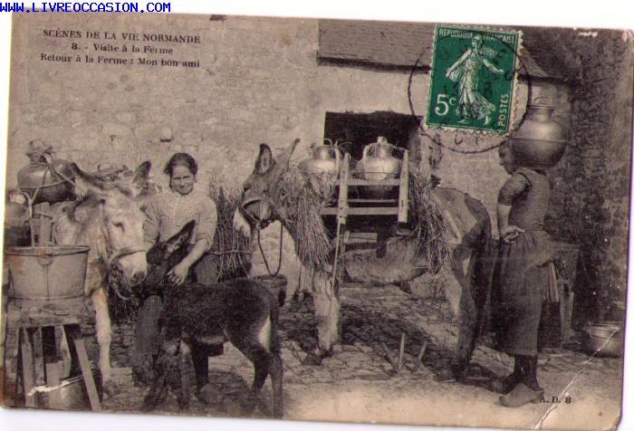 Normandie carte postale