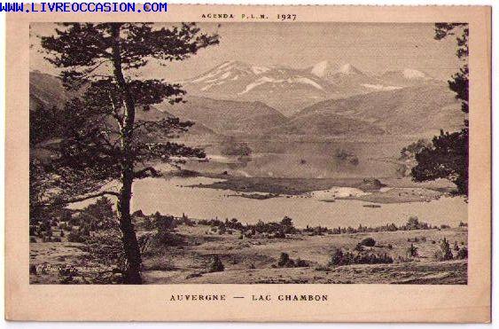 LAC CHAMBON carte postale