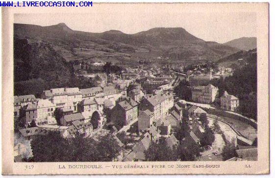 La Bourboule carte postale
