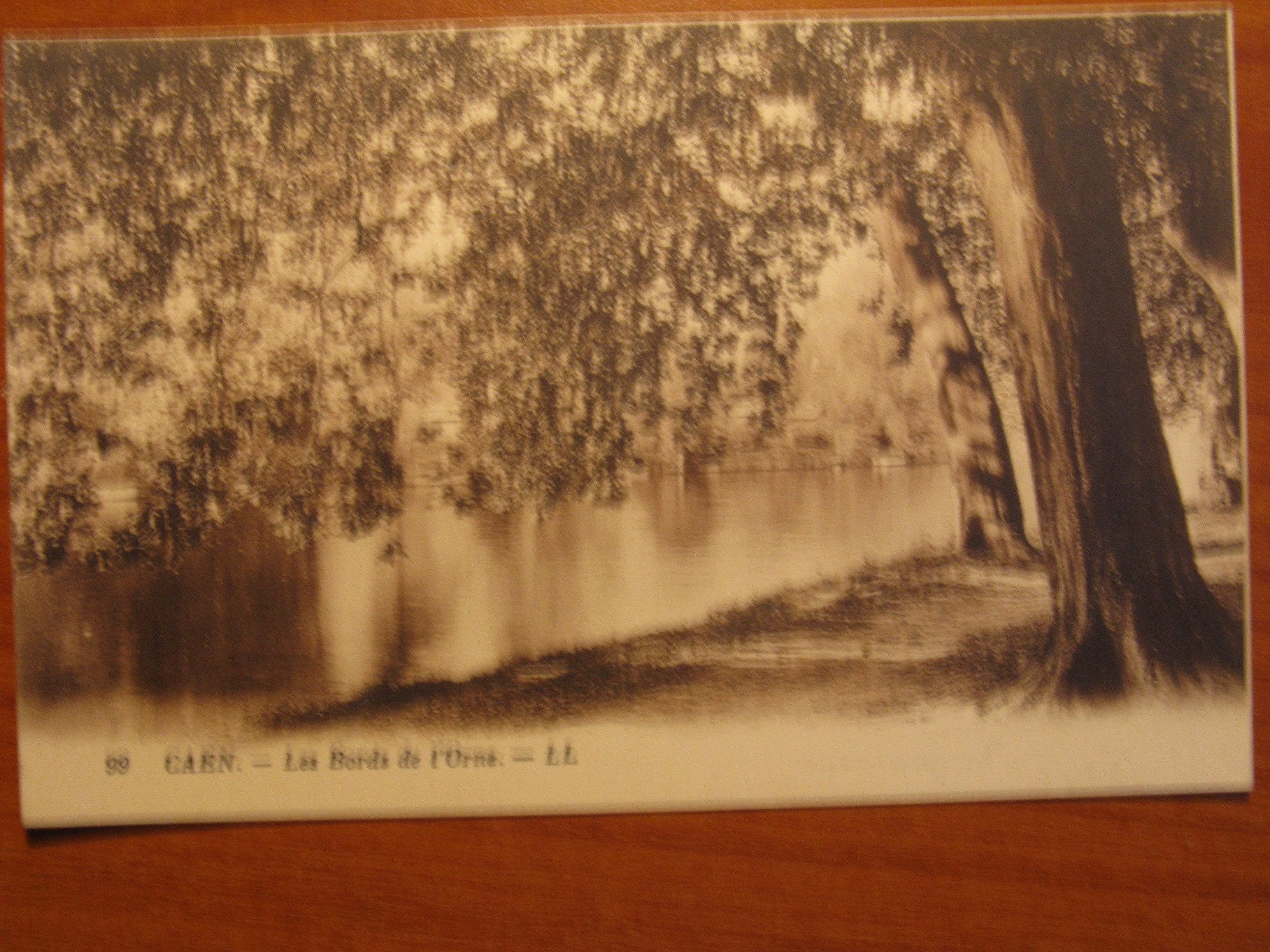 Caen carte postale