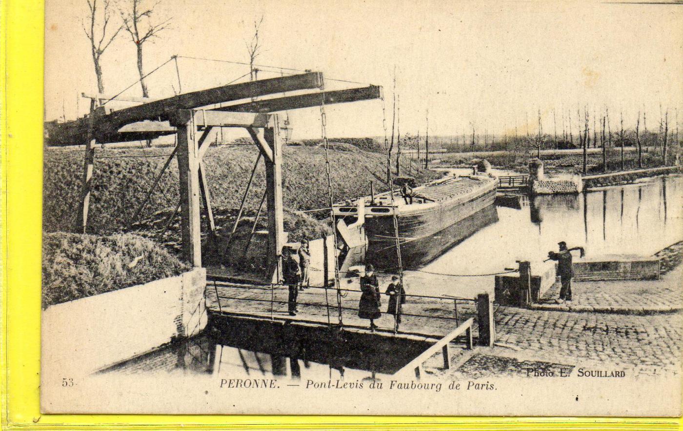 Peronne-pont Levis Du Faubourg De Paris