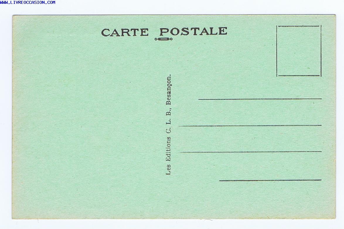 ORNANS les Ecoles - carte postale Doubs franche-comt