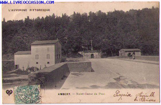 Ambert carte postale