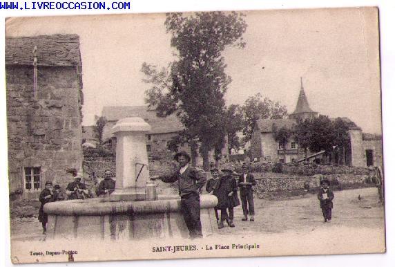 St Jeures carte postale