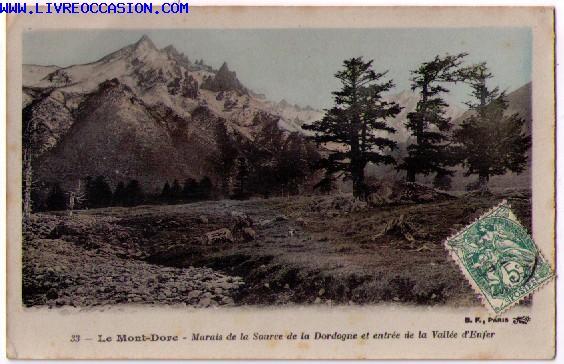 Le Mont Dore carte postale