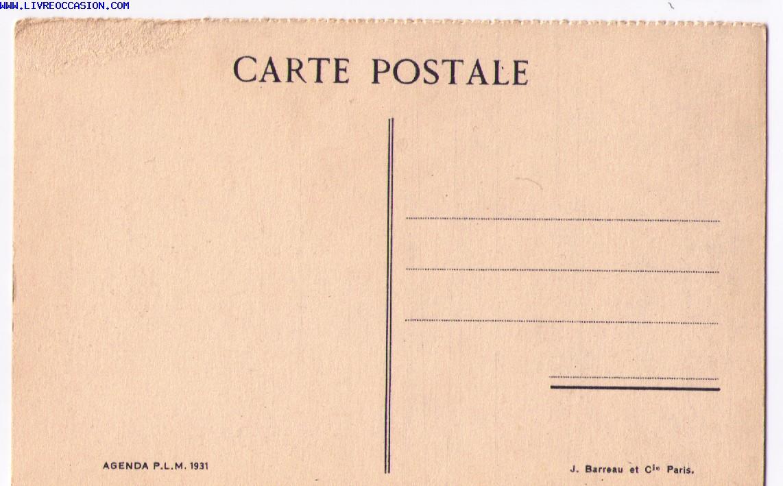 carte postale de la provence