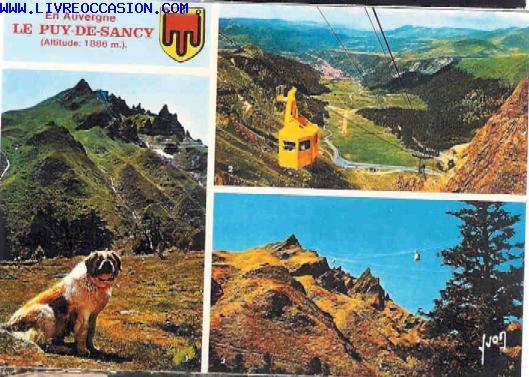 LE PUY DE SANCY carte postale