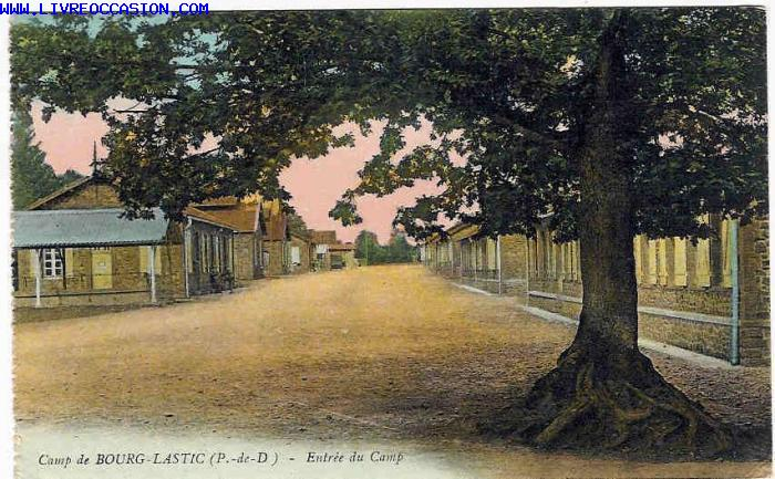 Bourg Lastic carte postale