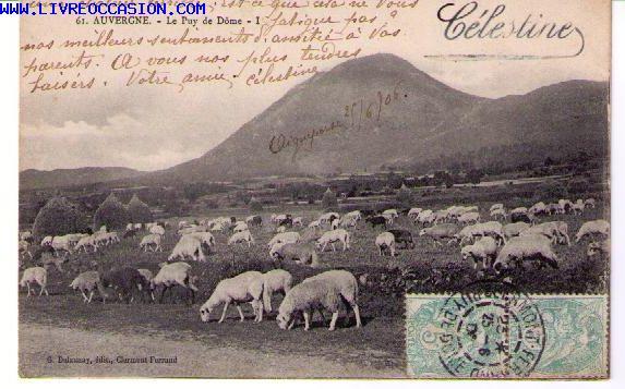 Puy de Dôme carte postale