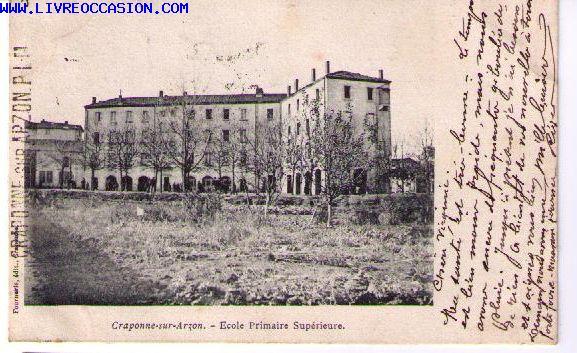 Craponne Sur Arzon carte postale