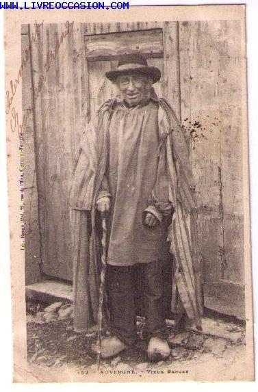 Auvergne carte postale